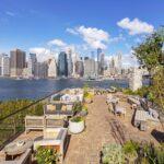 Bar de la azotea y del jardín del 1 Hotel Brooklyn Bridge