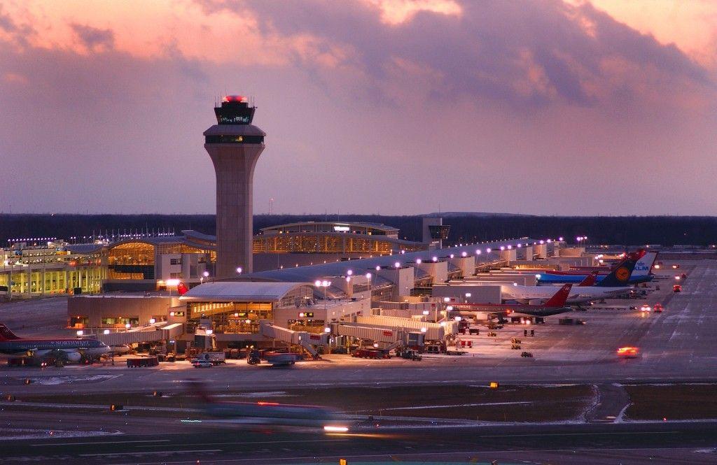 Aeropuerto Metropolitano del Condado de Wayne de Detroit