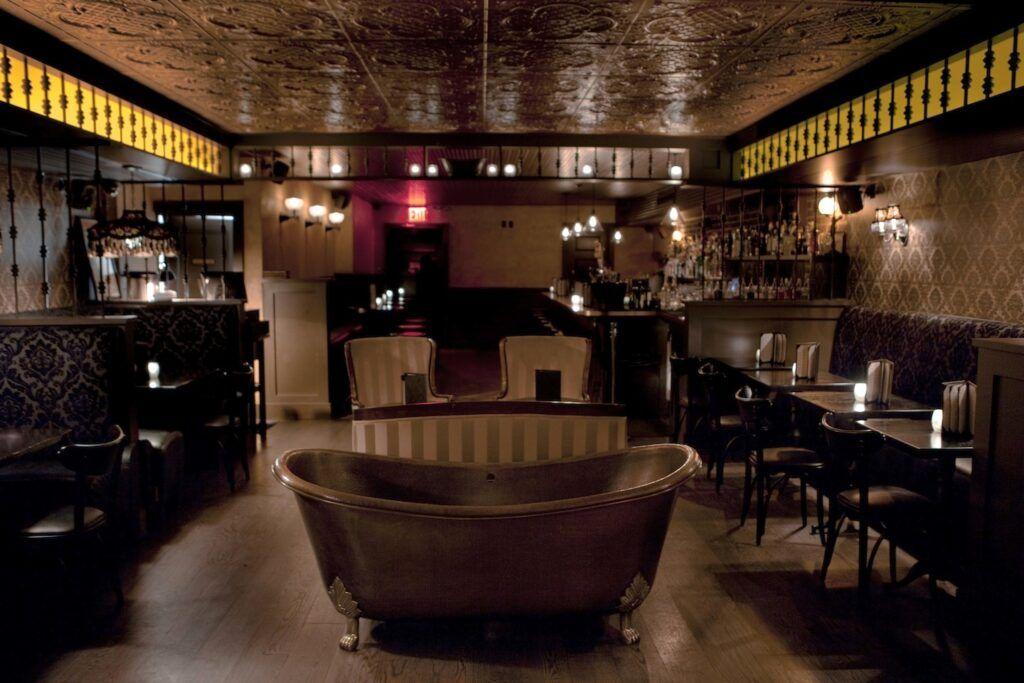 Bar Bathtub Gin