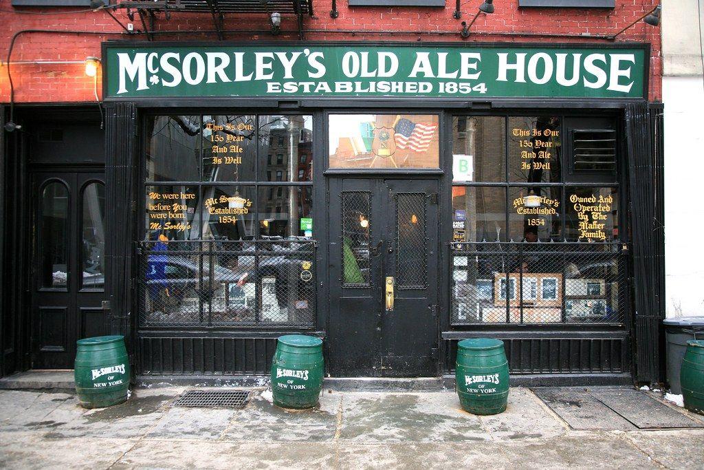 Bar McSorley's Old Ale House