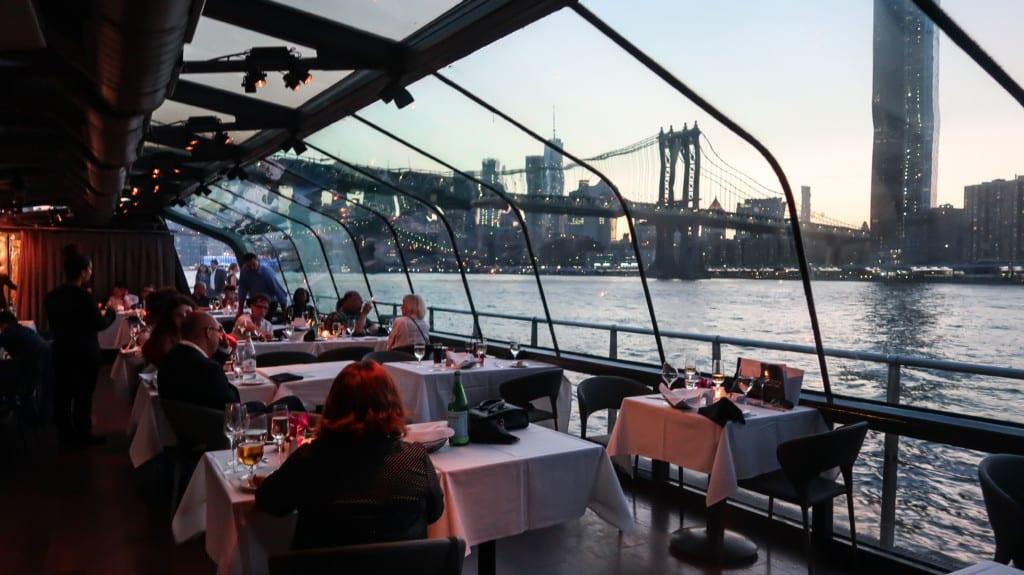 Crucero de lujo con brunch en Bateaux New York