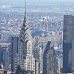 Plataforma de observación del edificio Chrysler en Nueva York