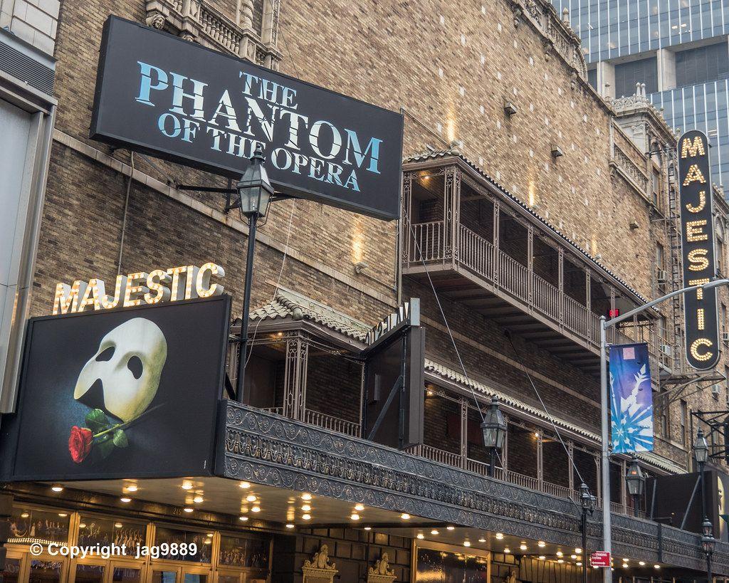 El Fantasma de la Ópera en el Teatro Majestic