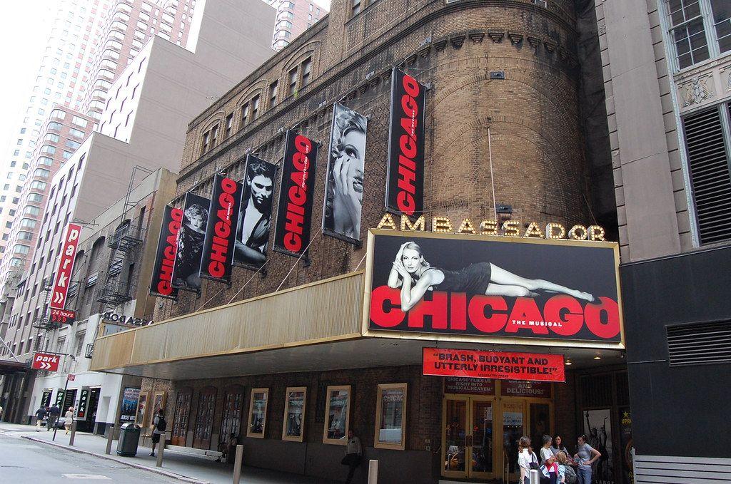 El musical de Chicago en el teatro Anbassador