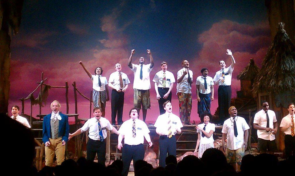 Musical El Libro de Mormón en Broadway
