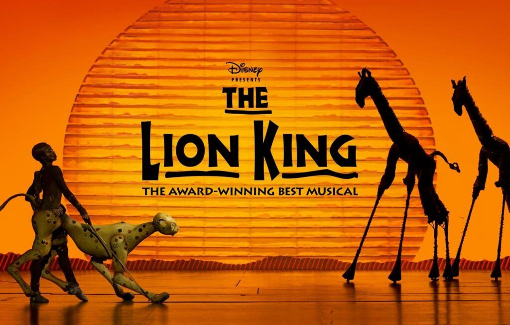 Musical El Rey León en Broadway