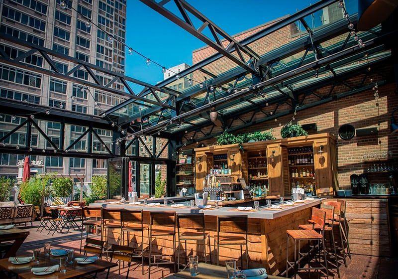 Refinery Rooftop Restaurant