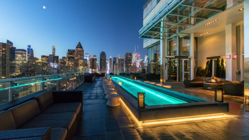 The Press Lounge - Rooftop Bar en Hell's Kitchen