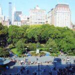 El mercado verde de Union Square en Nueva York
