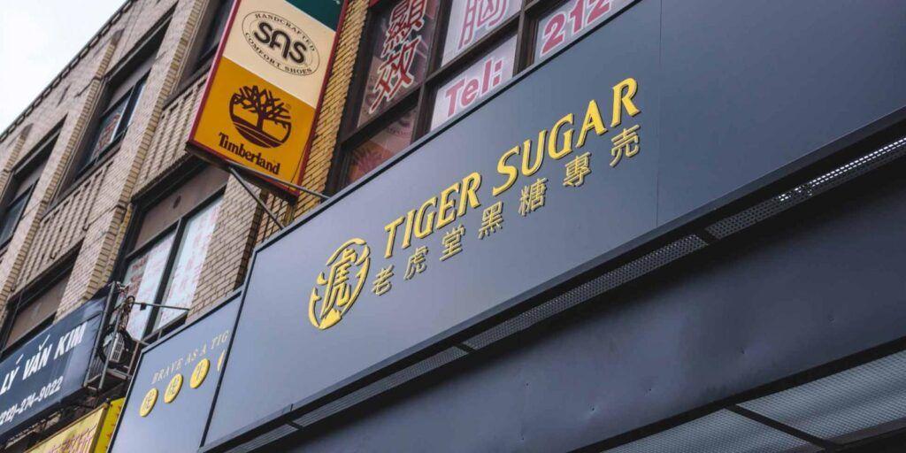 Tiger Sugar en NYC