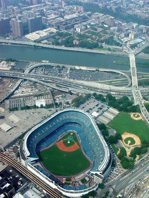 El estadio de los Yankees de Nueva York
