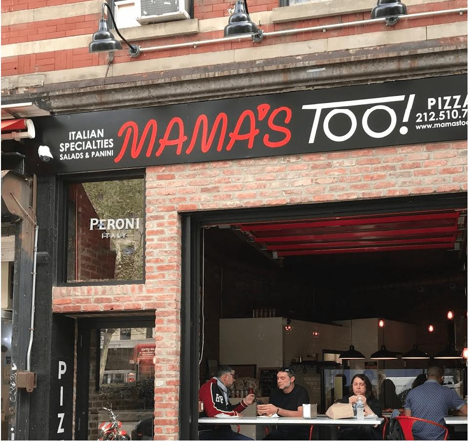 Pizzeria Mamas Too