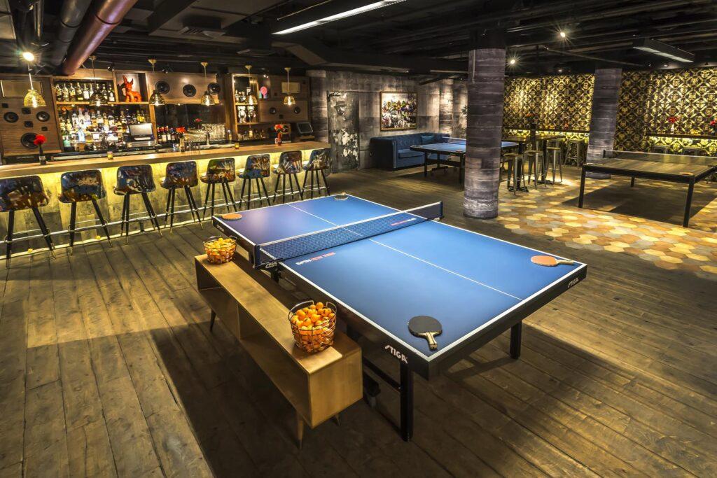 Ping Pong en Spin