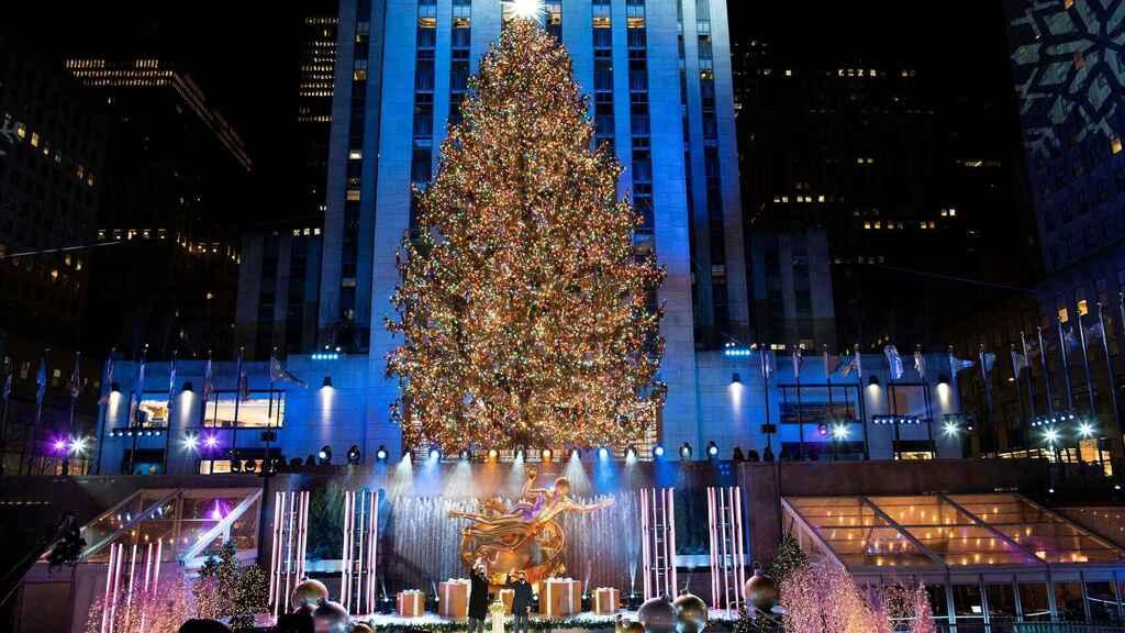 Árbol de Navidad del Rockefeller Center de Nueva York