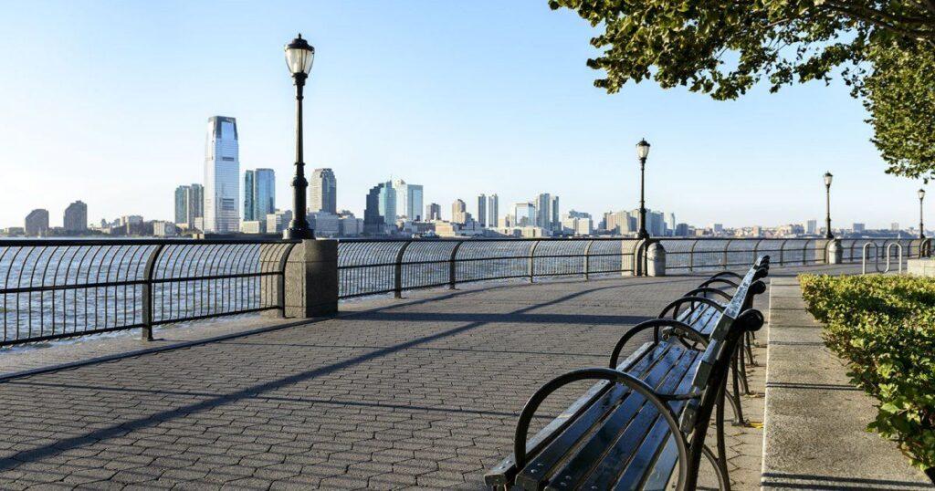 Battery Park, estatua de la Libertad
