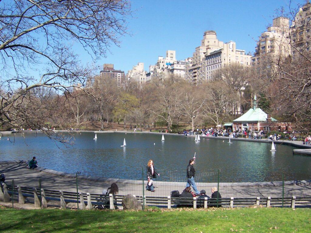 Conservatory Water de Central Park