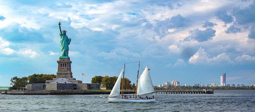 Crucero en vela por Nueva York hasta la Estatua de la Libertad