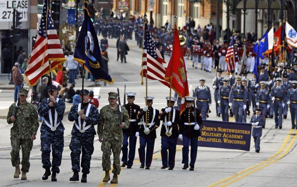 Desfile del Día de los Veteranos 11 de noviembre