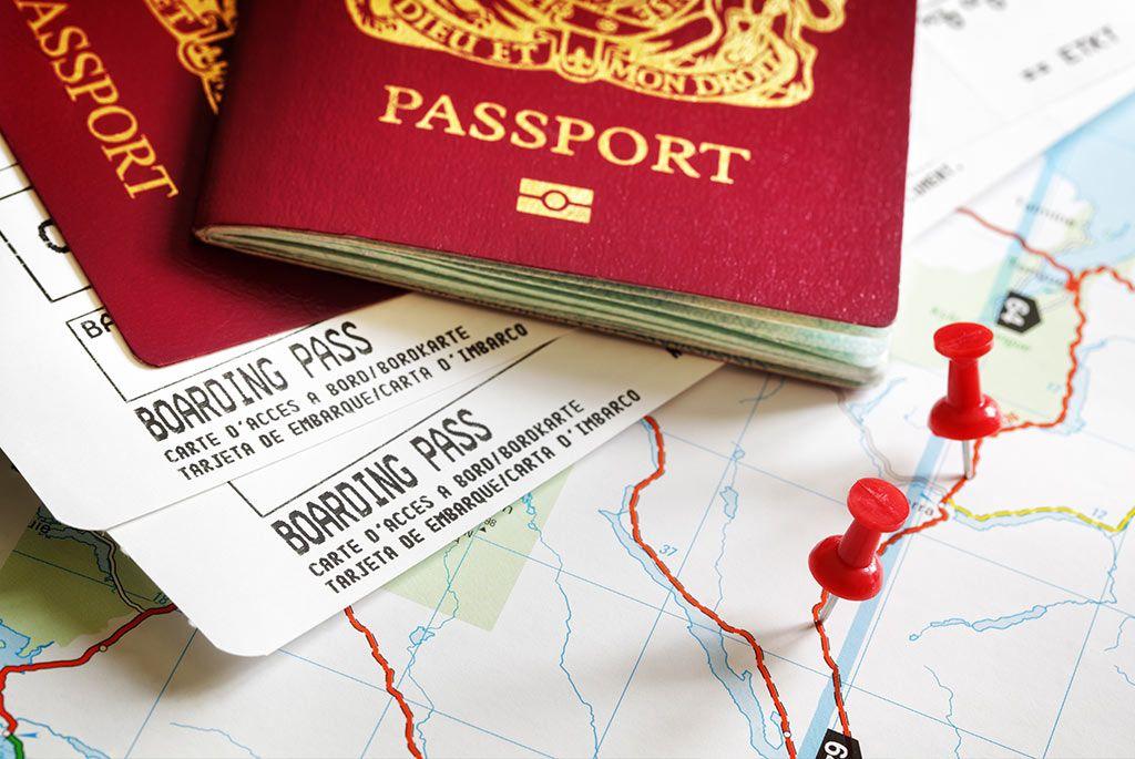 Documentación para viajar