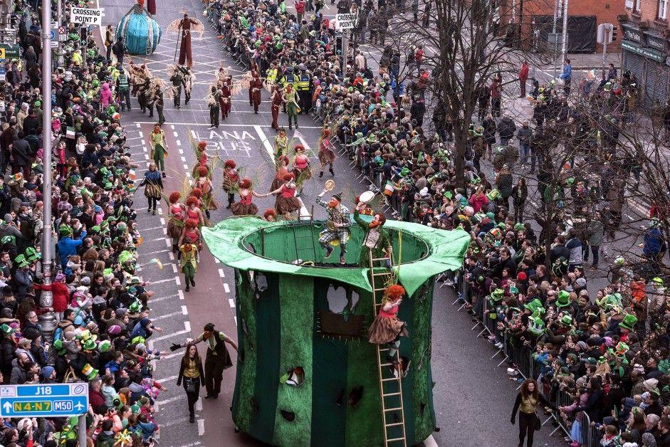 El desfile del Día de San Patricio en Nueva York