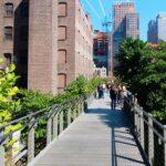 El parque High Line en Nueva York