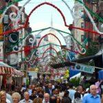 La fiesta de San Genaro en Little Italy