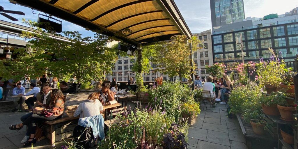Gallow Green Rooftop Garden