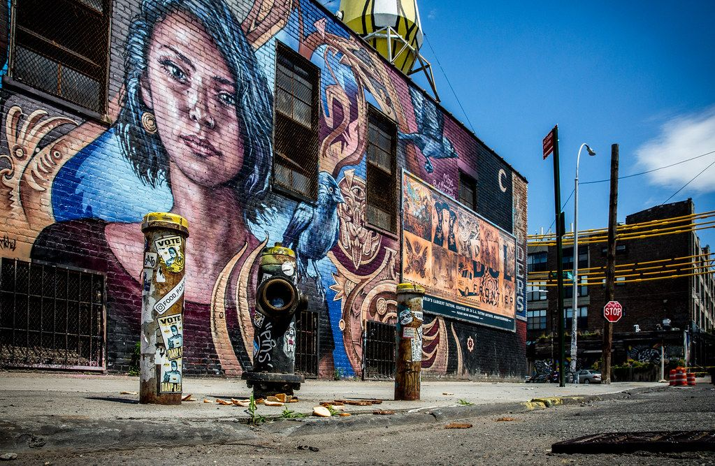 Grafitis de The Bushwick Collective