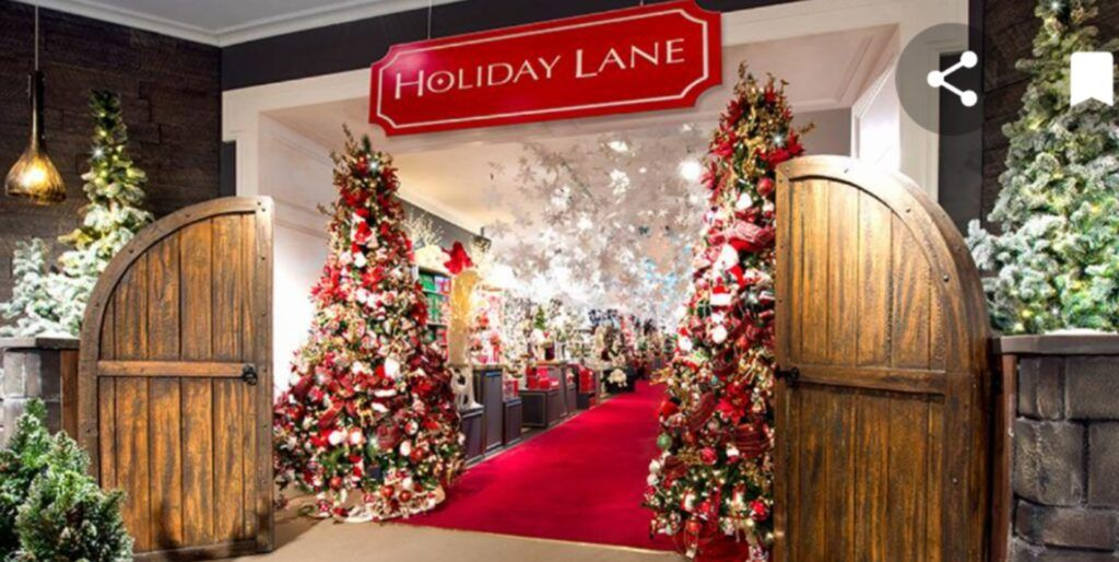 Holiday Lane en Macy's
