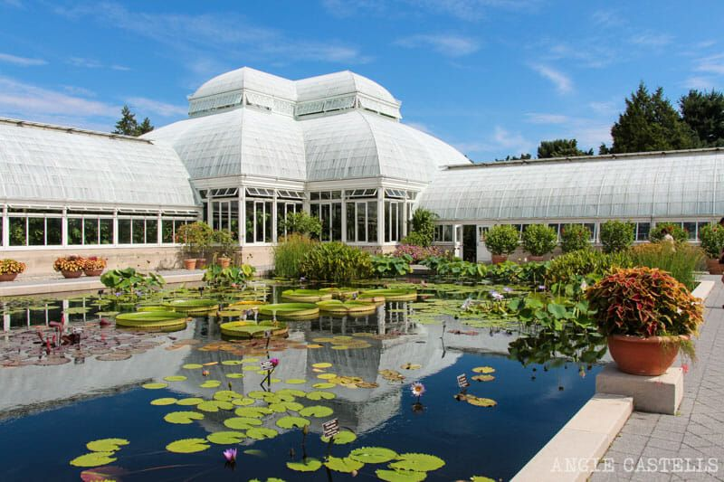 Jardín Botánico de Nueva York en el Bronx