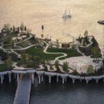 Little Island en el muelle 54 de Nueva York