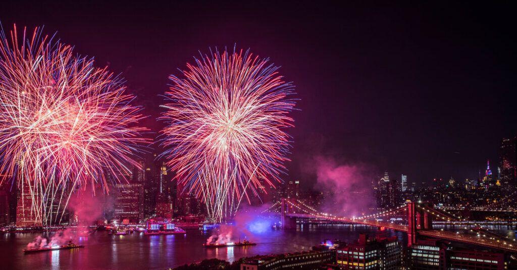 NYC 4 de julio Macy's Fireworks
