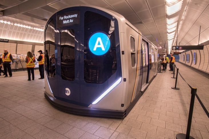 Nuevos vagones de metro en NY