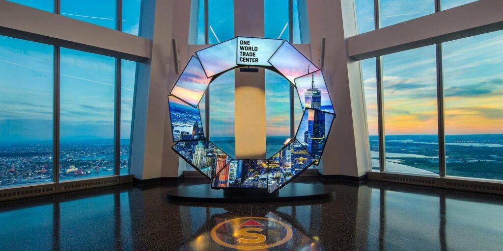 Observatorio del One World en el One World Trade Center