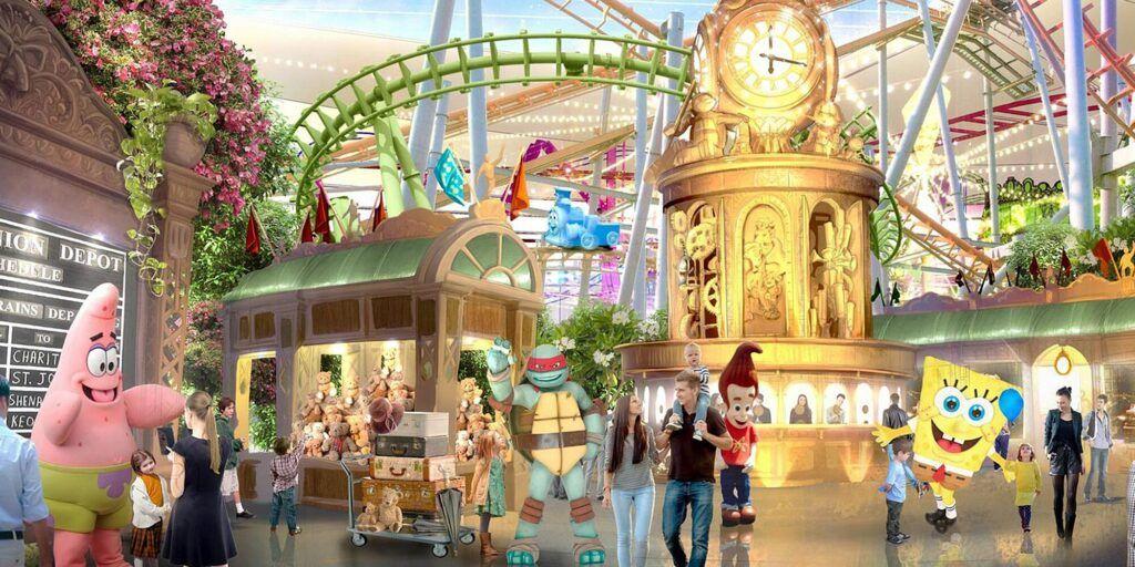 Parque temático Nickelodeon Universe